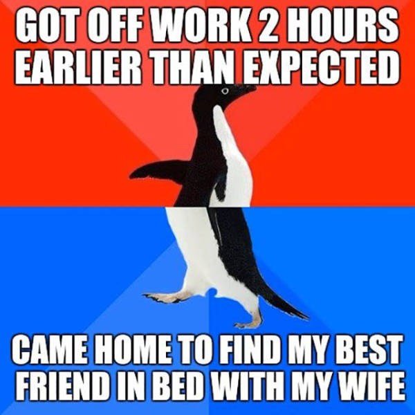 Guy Comes Early From Work Only To Find His Wife In Bed With Their Best Friend