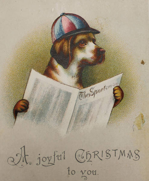 Weird And Creepy Victorian Christmas Cards