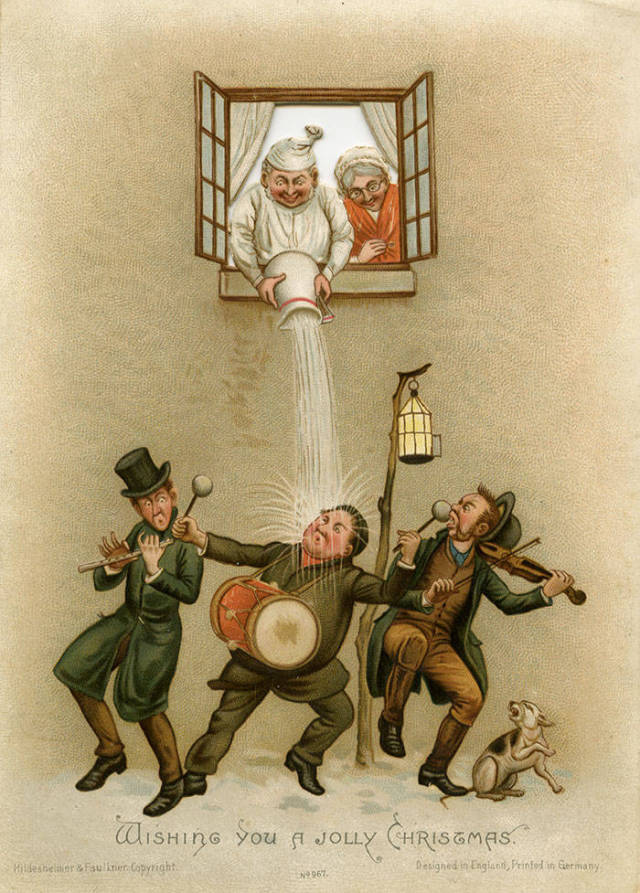 weird and creepy victorian christmas cards 57 pics picture 4 izismilecom