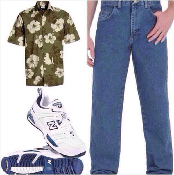 You Surely Saw Almost All Of These Outfits At Least Once In Your Life