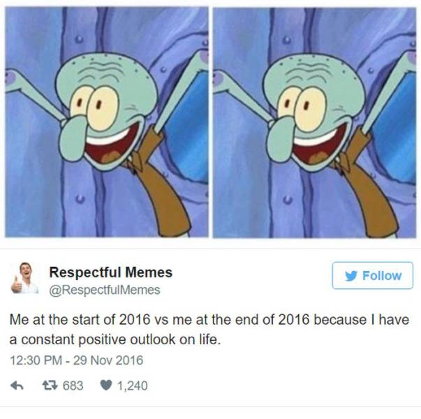 "The Funniest ""Me At The Beginning Of 2016"" vs ""Me In The End Of 2016"" Memes"