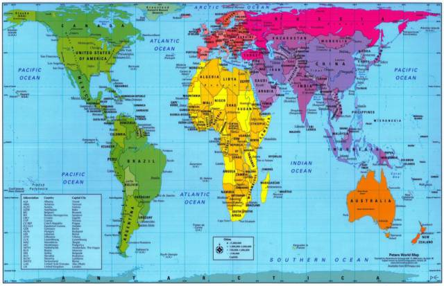 The real size of different countries and how they really look in 14 the real size of different countries and how they really look in comparison to one another gumiabroncs Gallery