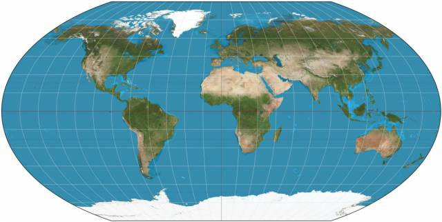 The Real Size Of Different Countries And How They Really Look In Comparison To One Another