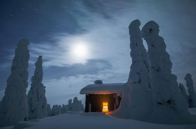 When Winter Comes To Lapland, It Makes It A Magical Place
