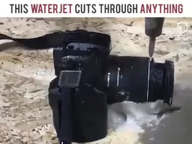 Water Jet That Can Cut Through Anything