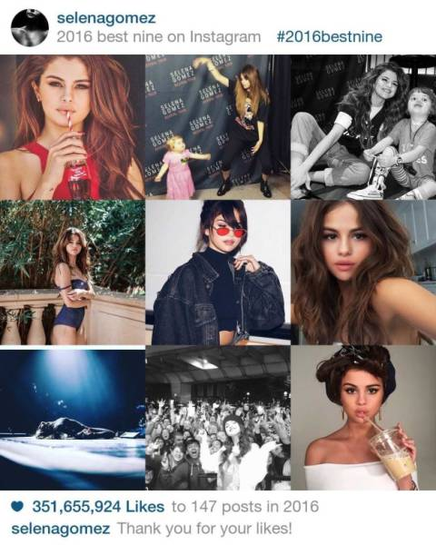 Celebrities Who Received Millions And Billions Of Likes On Their Instagram