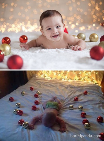 Christmas Photos With Kids: Expectations vs Reality