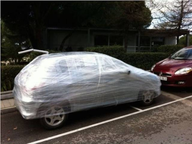 Jerks Who Don't Know How To Park Taste A Bit Of Sweet Revenge