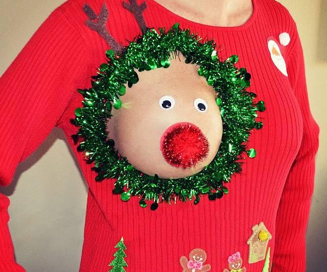 We Heard You Like Christmas And… Boobs