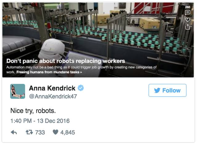 Well, Anna Kendrick Is Definitely Good At Twitting
