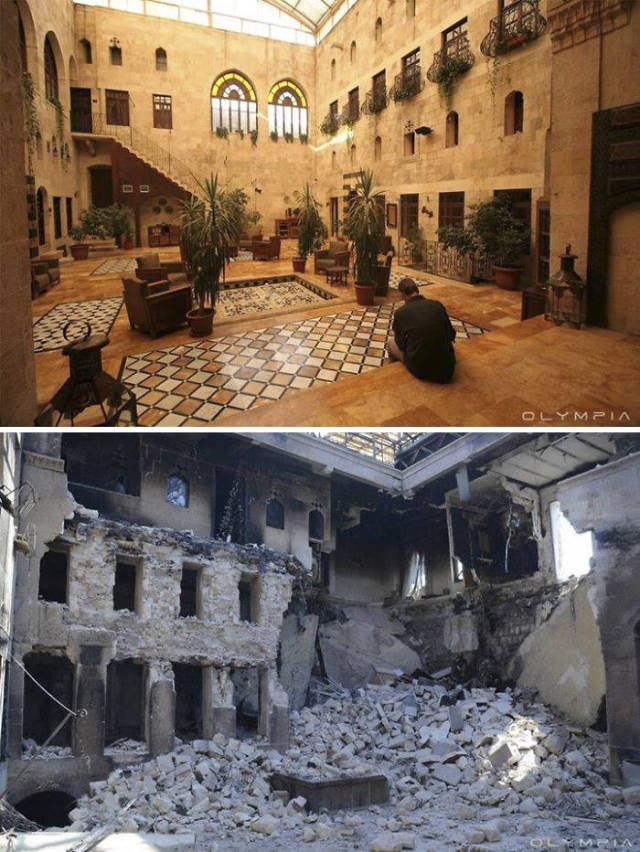 It's Unbelievable What War Has Done To Aleppo