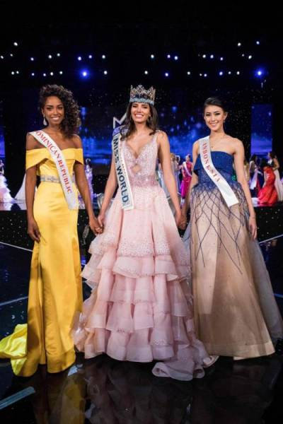 Miss World 2016 Stephanie Del Valle Shows Real Winner's Emotions