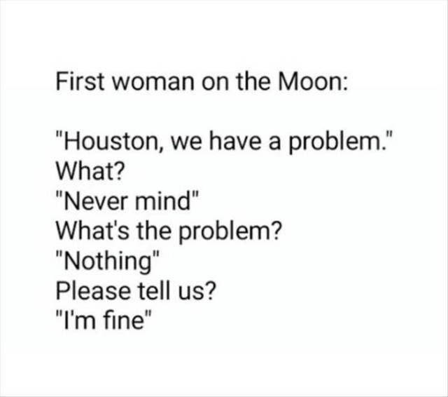 Behold, The Infinite Subject For Men To Explore: The Women's Logic