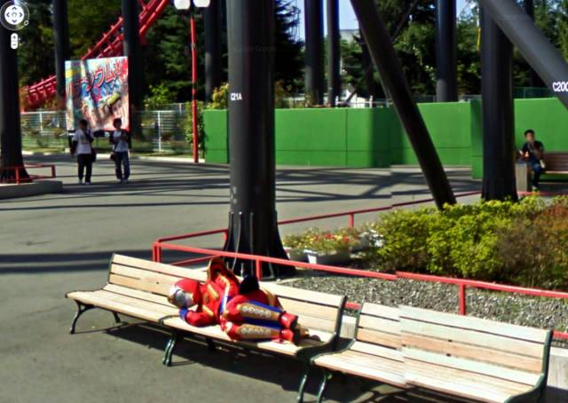 A Professional Photo Project Shot Entirely By Google Street View Robots