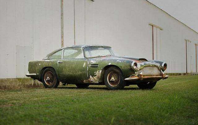 Aston Martin DB4 Lost For Half Century Is To Be Sold For 100 Times Its Price