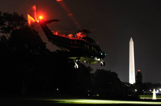 That's What A Premier Presidential Aerial Vehicle Is Like – Marine One The Helicopter