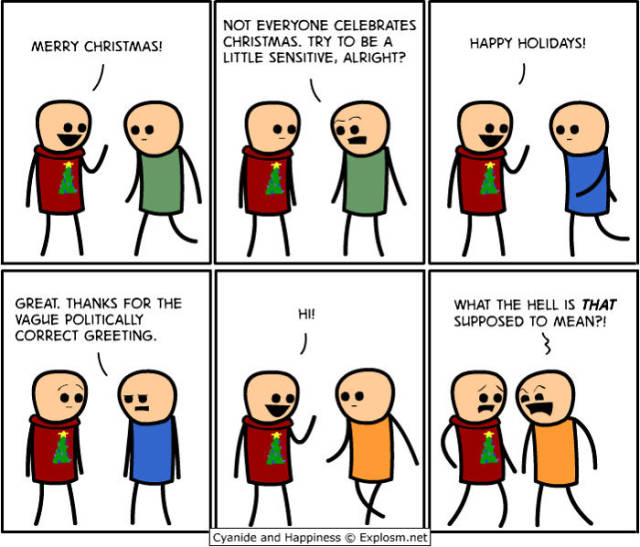 These Cyanide And Happiness Christmas Comics Are So Awkward…But So True!