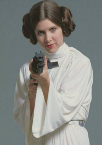Carrie Fisher The Princess Leia Is No More… Long Live Princess Leia!