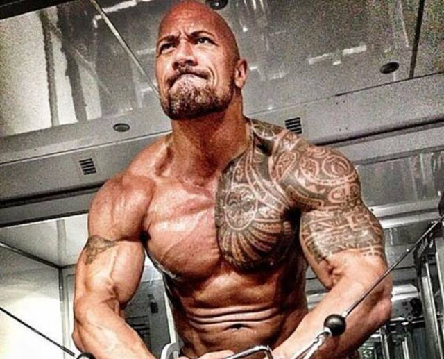 "It's Not Easy To Live And Train Like ""The Rock"""