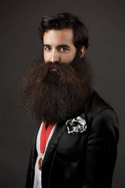 Nothing's More Manly Than A Beard!