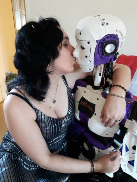The Future Is Near As Loving Relationships Between Humans And Robots Become A Reality