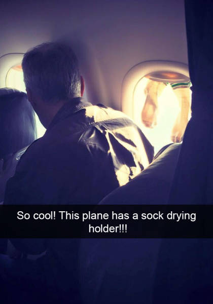 Airflights Provide Some Both Entertaining And Embarrassing Stories