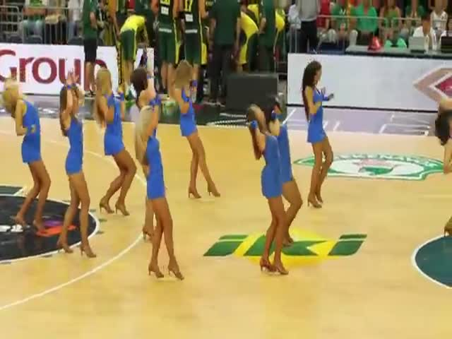 Lithuanian Cheerleaders Do Their Job Pretty Damn Well!