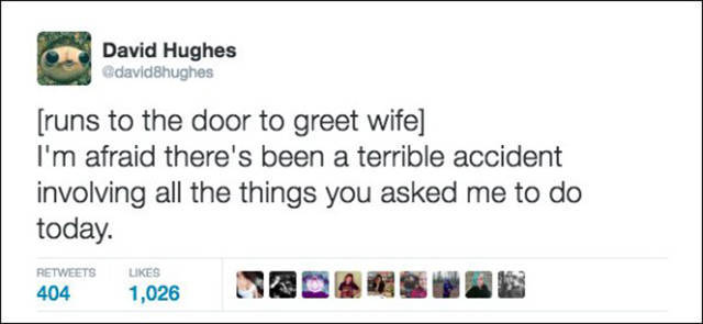 Truth About Being Married Put Into 140 Characters