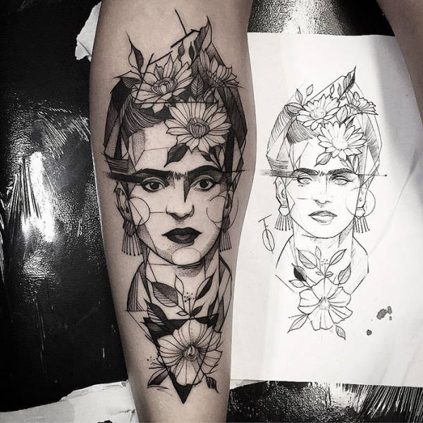 When Tattoo And Classical Art Go Hand In Hand