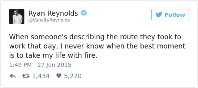 Meet Ryan Reynolds – The Master Of Ingenious Tweets