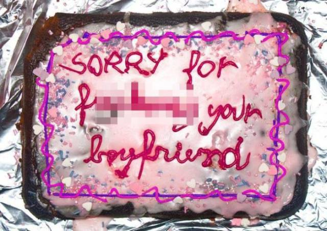 If You Fail At Sex – Cover It Up With A Cake For Your Loved One. I Guess
