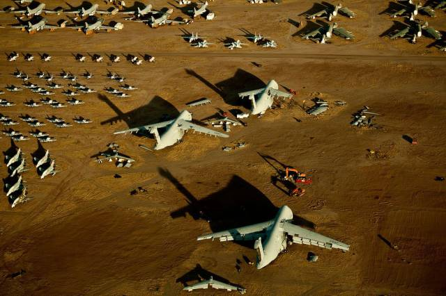 Breathtaking Views Of The US Aircraft Cemetery. Nothing Lasts Forever