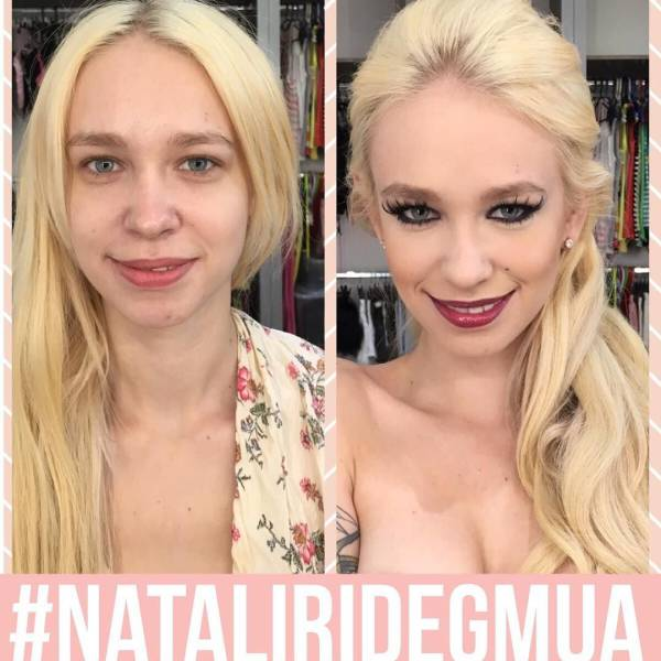 """Makeup Can Do Wonders"""" Is An Understatement With These Porn Stars"""