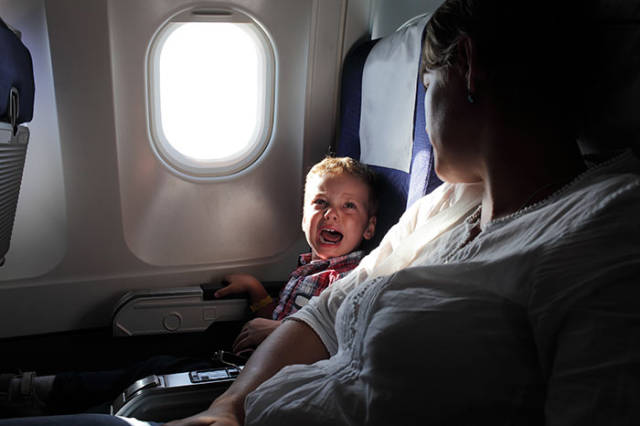 The Movement Against Apologizing For Flying With Kids Started
