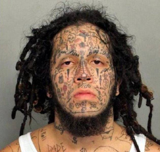 Why Is It Not Surprising That These Bizarre Photos Are Actually Mugshots…