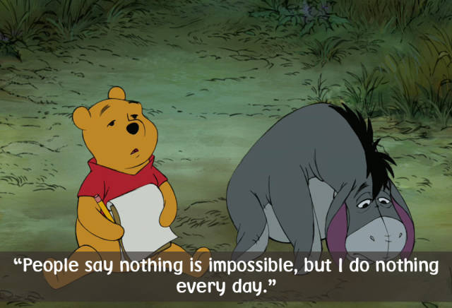Winnie The Pooh Brings Back The Memories Of How Simple Things Are When You're A Child