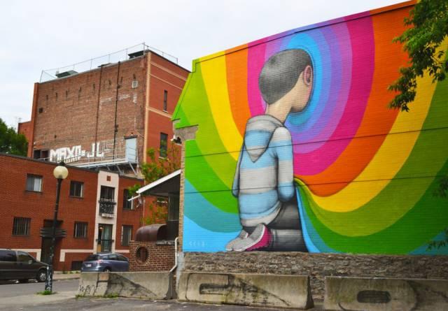 Again, Who Said Street Art Is Vandalism?!