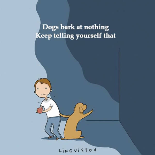 Very True Story Animal Comics Brought By Duo Lingvistov
