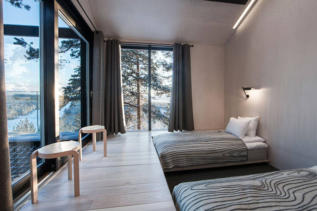 In This Lapland Hotel You Get About As Close To The Nature As It Is Possible