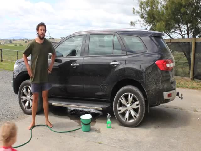Probably, The Most Efficient Way To Wash Your Car